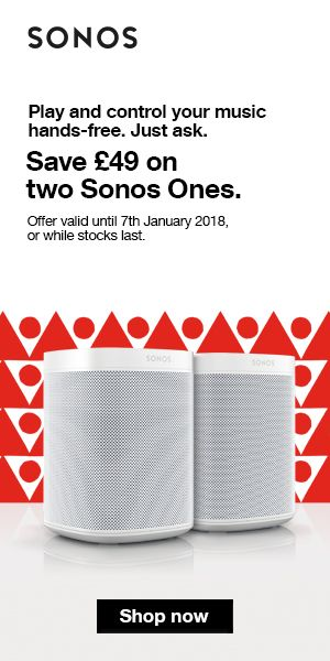 Christmas Offer!!! Save £49 On Two Sonos One - Amazon Alexa Voice Controlled Smart Speaker #christmas #sonosone #voicecontrolledspeaker