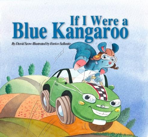 My latest Book, If I Were a Blue Kangaroo.