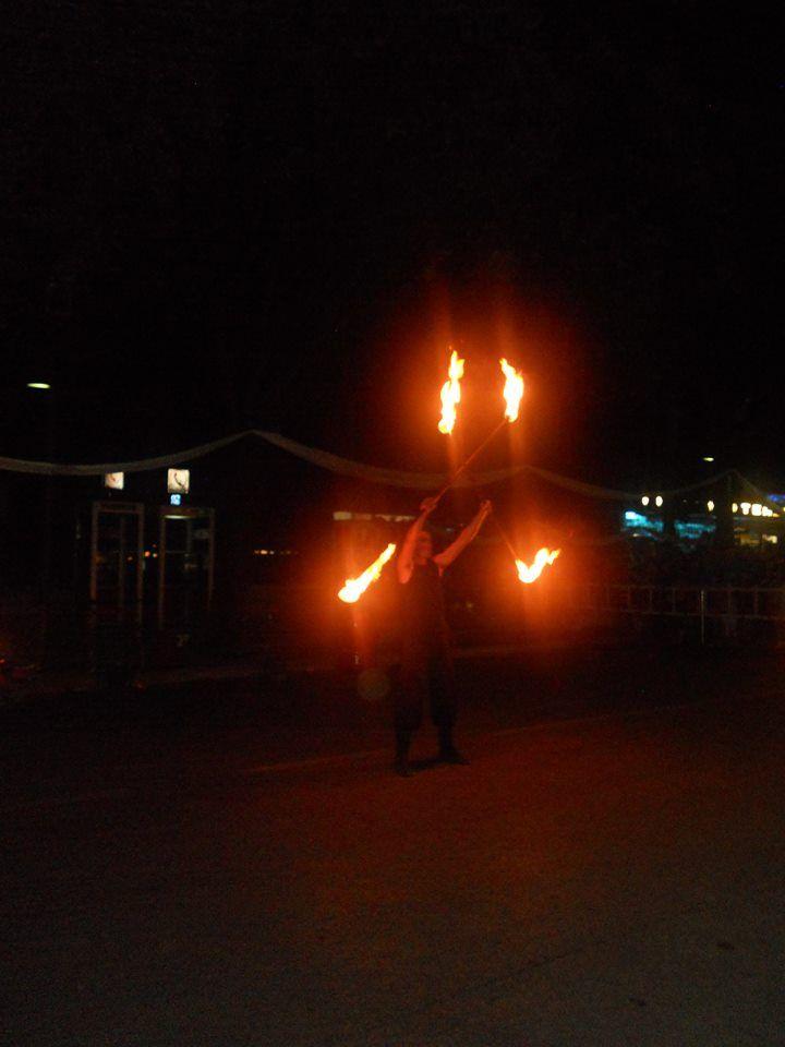 Notte Celeste 2014. Giochi di fuoco Parte 2 @VialeMarconiCastrocaroTerme #notteceleste