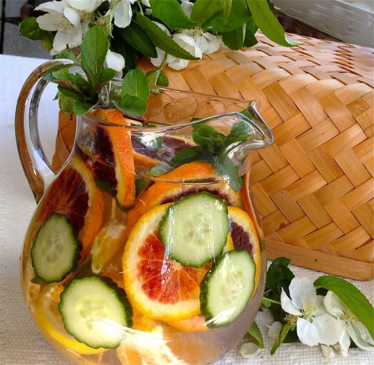 """Citrus Cucumber Water Fat Flush - was originally named Fat Flush by the creator, Kim Lyons (from The Biggest Loser) who states, """"Cleansing your system is one of the best ways to jump-start your body's fat burning ability and to cleanse your system. It's simple to make, it tastes great and the science backs up its powerful benefits."""""""