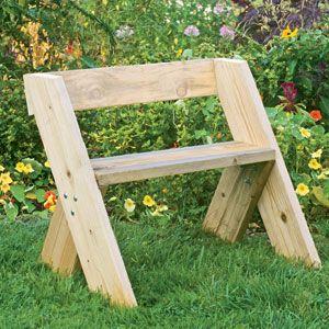 How to build the Aldo Leopold Garden Bench