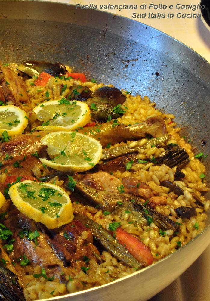 Paella di Pollo e Coniglio - http://blog.giallozafferano.it/suditaliaincucina/paella-di-pollo-e-coniglio-2/