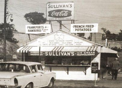 Sullivan's at Castle Island, South Boston, circa 1960s. #boston