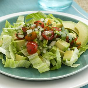 Mexican Avocado Salad...YUM!!!  Only 3 Net Carbs, Plus 4 Grams of Fiber