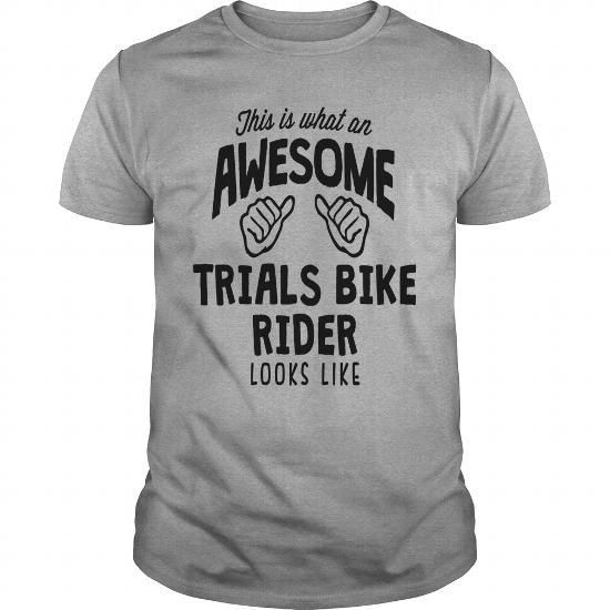 awesome trials bike rider looks like T-SHIRT