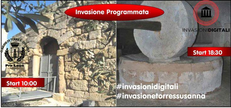 Domenica 3 maggio Invasione digitale a Torre Santa Susanna | INVASIONI DIGITALI