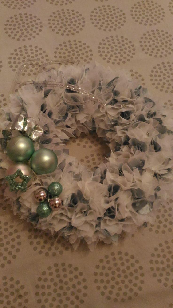 vánoční věneček zelený 2