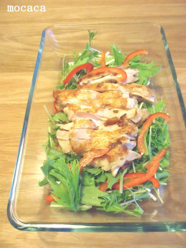 蒸し鶏で4種のサラダレシピ。