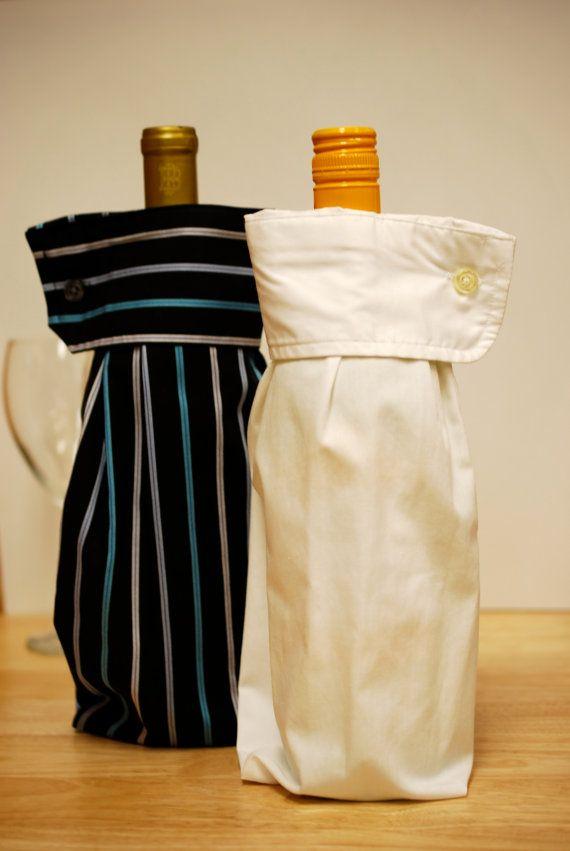 Vestito camicia manica vino regalo borse 2 Upcycled maschile: porgete il braccio destro (e sinistro)