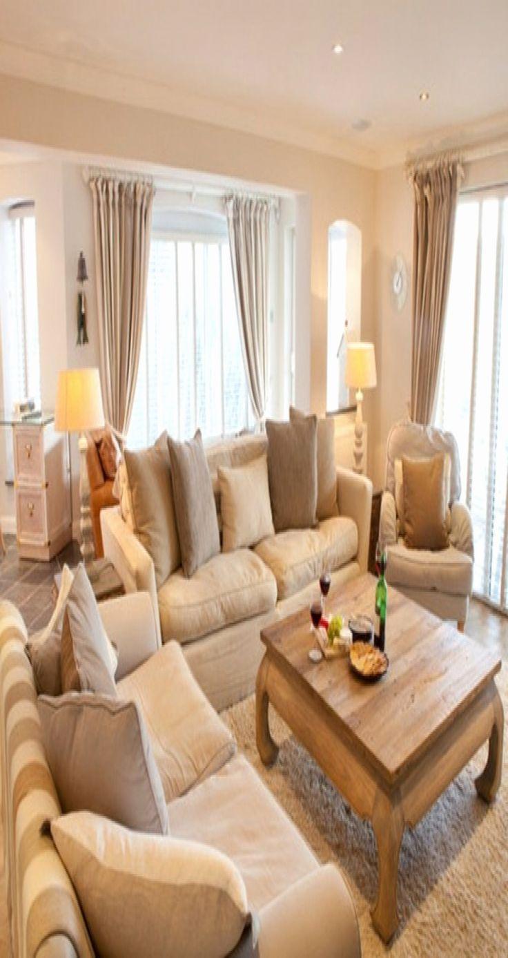 28 Luxus Wohnzimmer Gemütlich Einrichten   Living room color schemes, Beige living rooms, Living ...