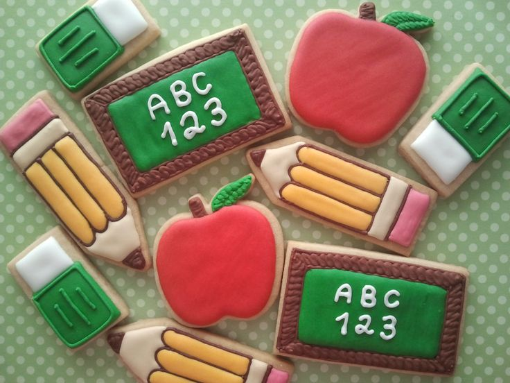 Dia do Professor - cookies, biscoitos decorados | by Cookie Design
