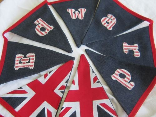 Personalised Children's Union Jack Bunting