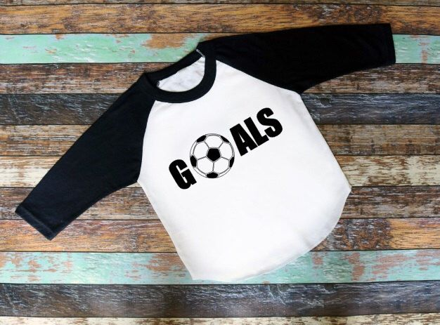 Soccer Shirt Goals Kids T-Shirt Raglan Shirt Kids Raglan Kid Shirt Toddler Hipster Shirt Girls Raglan Boys Raglan Soccer Gift Soccer Lover by AveryAnnBoutique on Etsy https://www.etsy.com/listing/470462934/soccer-shirt-goals-kids-t-shirt-raglan