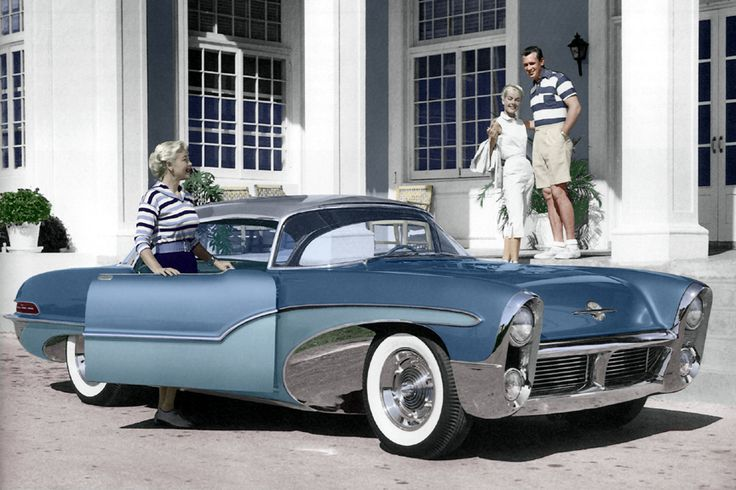 1955 Oldsmobile Delta 88 Concept car - (Oldsmobile Motors division of General Motors Corp, Lansing, Michigan 1897- 2004)