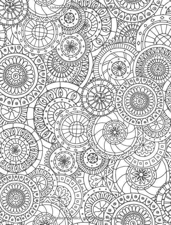 11462 best mandala  vorlagen  coloring images on