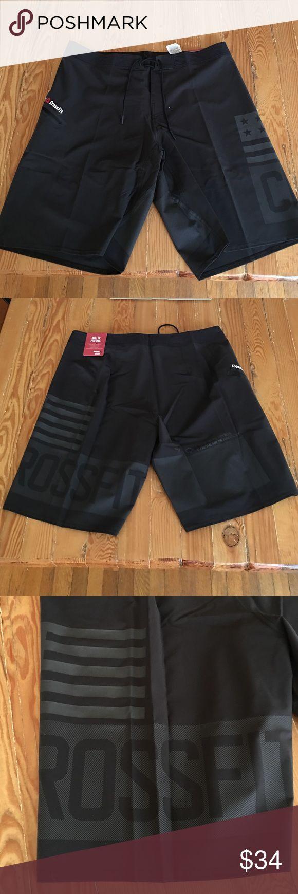Men's Reebok CrossFit Super Nasty Hero Short Black Reebok men's shorts. New with tags! Reebok Shorts Athletic