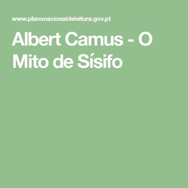 Albert Camus - O Mito de Sísifo