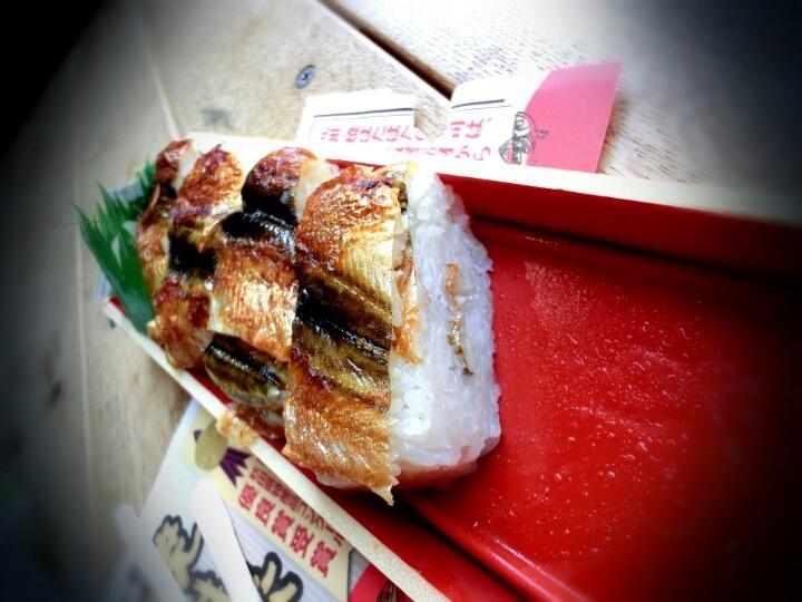 ハタハタの押し寿司