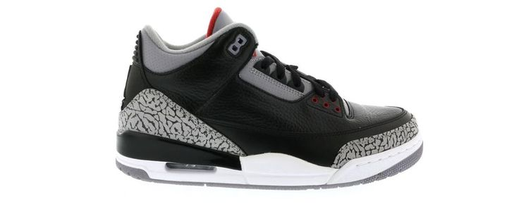 Check out the Jordan 3 Retro Black Cement (2011) available on StockX
