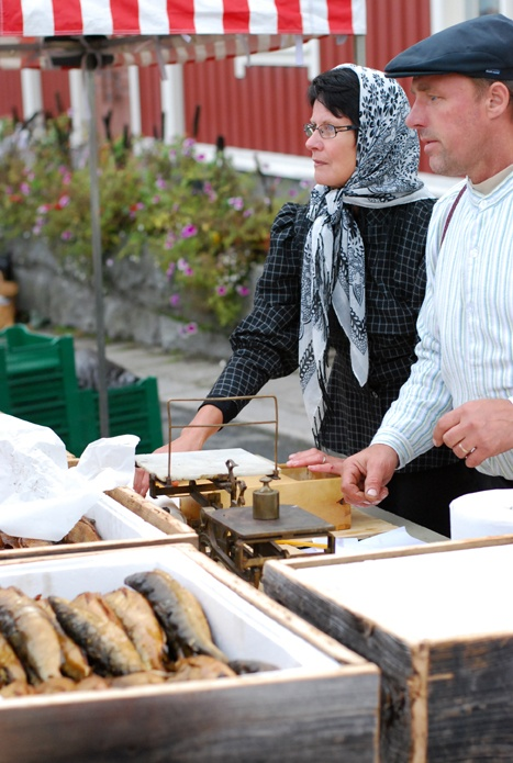 Old fashioned market day, arranged in September  (Photo: Kajsa Snickars)