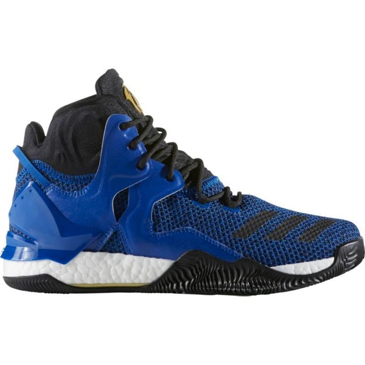 adidas mens d rose 7 boost basketball shoes blue black gold
