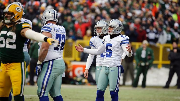 Cowboys kicker Dan Bailey