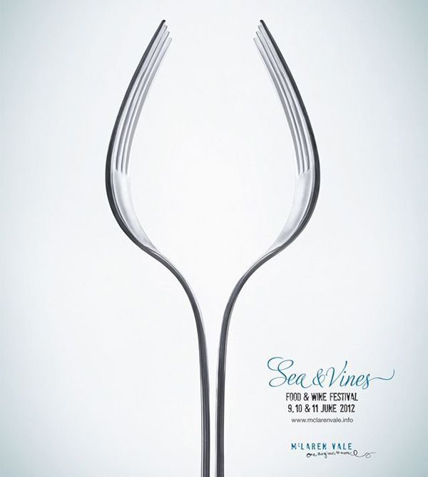 For example, the ad above creatively uses negative space and symmetry to create a subtle image of a wine glass. Every existent element–and everything that ...