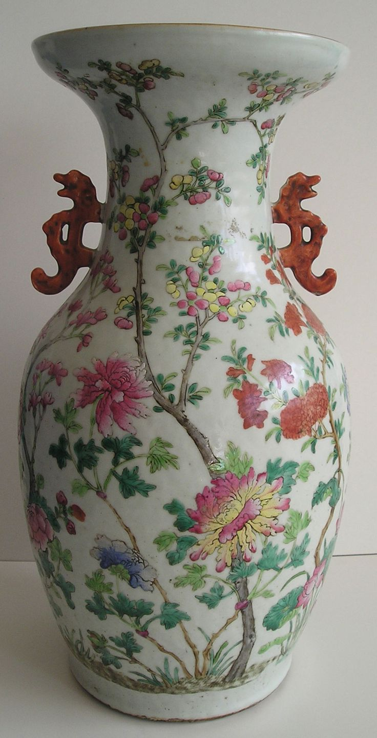 80 Best Images About Famille Rose On Pinterest Discover Best Ideas About Porcelain Vase