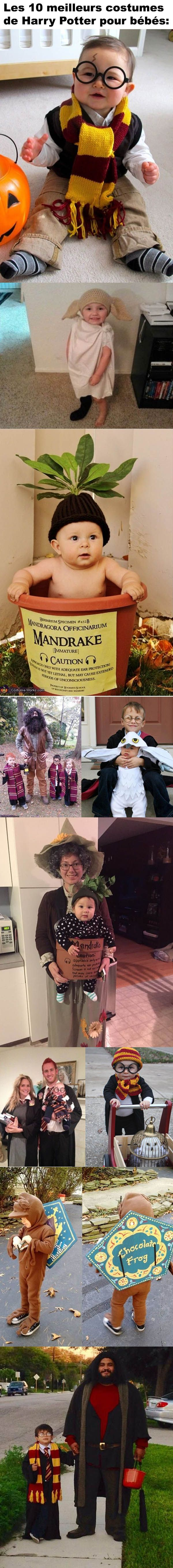 Les 10 meilleurs costumes de Harry Potter pour bébés