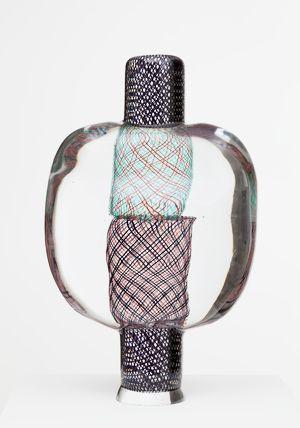 Bolero  Oiva Toikka  2012  47 x 29 cm  Hand blown glass  GF 6142