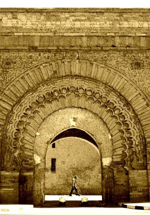 Old City Walls ...Marrakesh... Photography Peter Carman... 2006