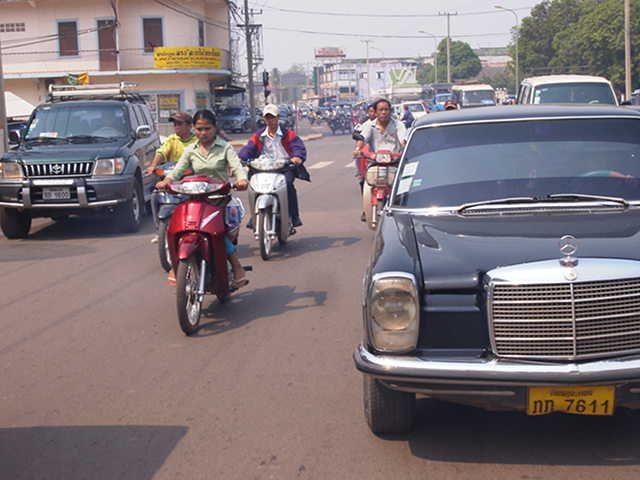 Vientiane traffic #Laos