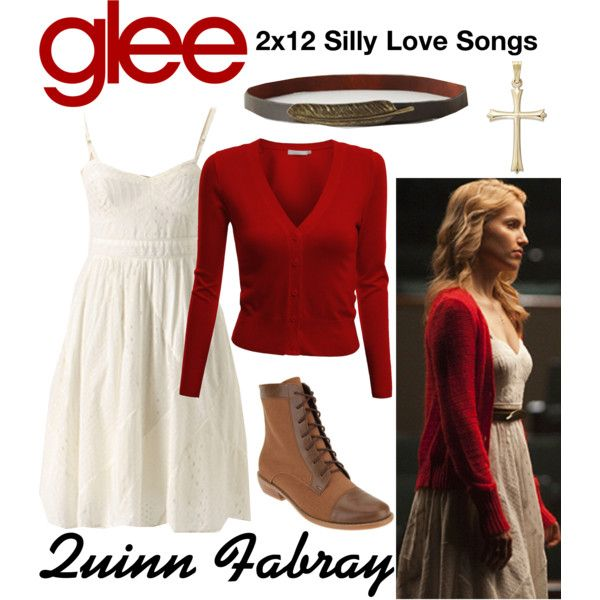 Quinn Fabray (Glee) : 2x12 by aure26 on Polyvore featuring mode, Doublju and glee