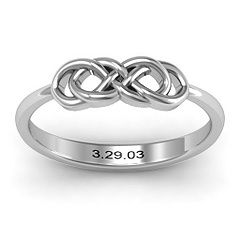 Infinity Knot Ring -