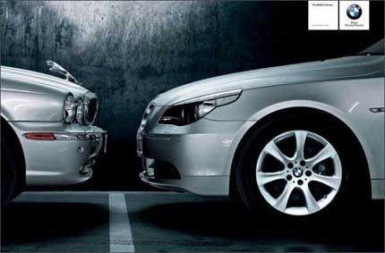BMW and Jaguar: face to face