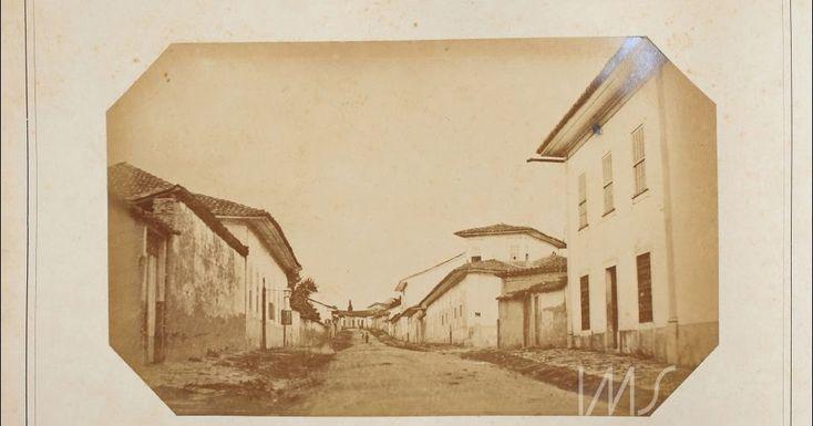Rua Tabatinguera  Ano: 1862  Autor/Fonte: Militão Augusto de Azevedo/IMS