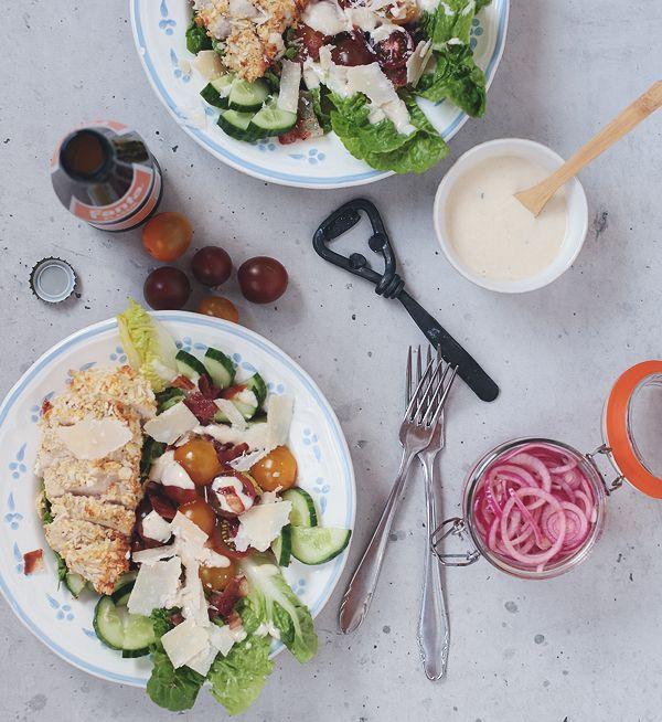 64 besten food salat frisch lecker bilder auf pinterest beilagen gesund isst und. Black Bedroom Furniture Sets. Home Design Ideas