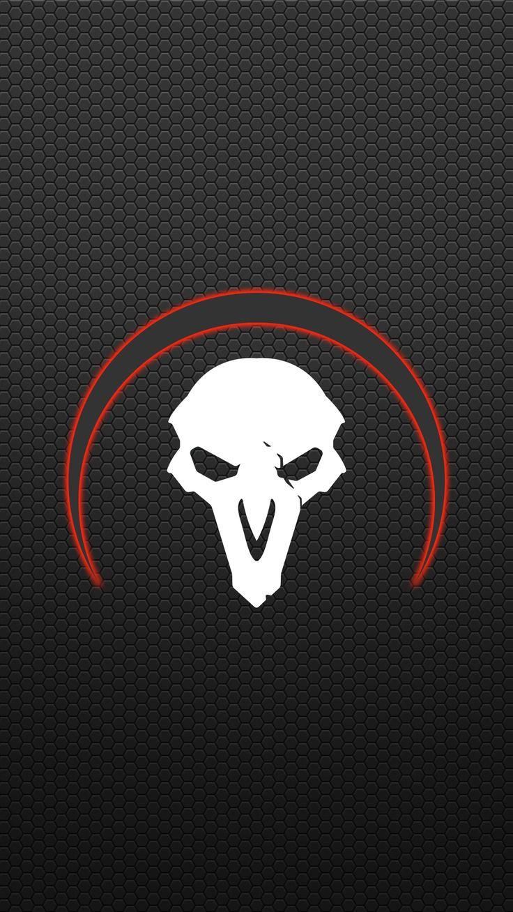 Overwatch Reaper Mobile Wallpaper Игровые арты, Обои