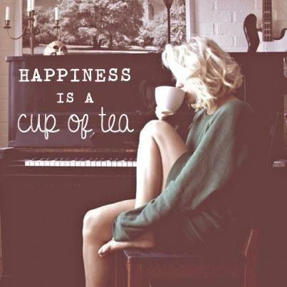 Tea is the solution..