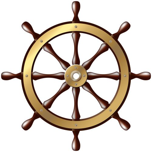 Ship Wheel PNG Clip Art