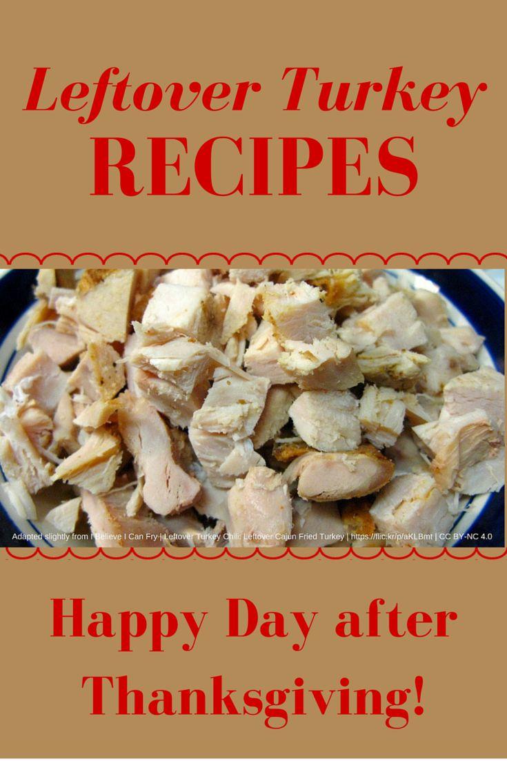 Recipes for leftover turkey