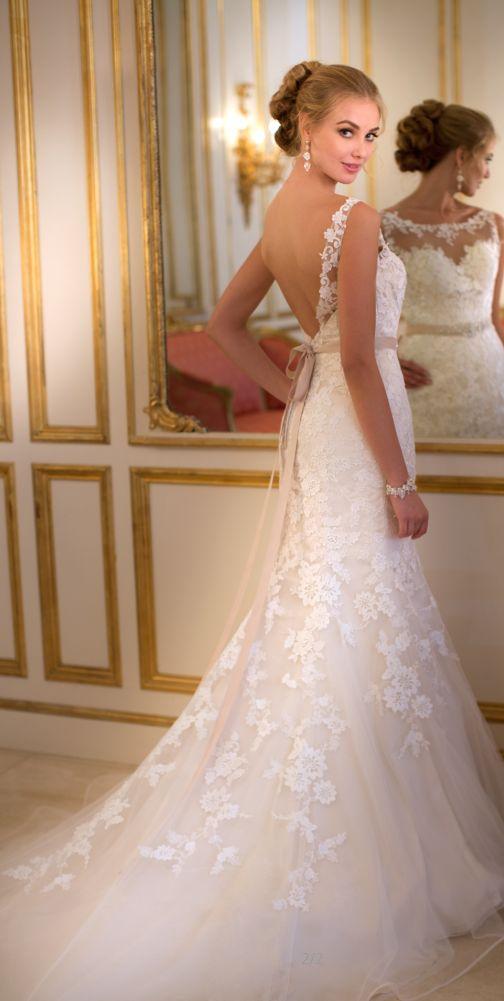 wedding dress wedding dresses   v back lace wedding dresses love http://www.pinterest.com/adisavoiaditrev/