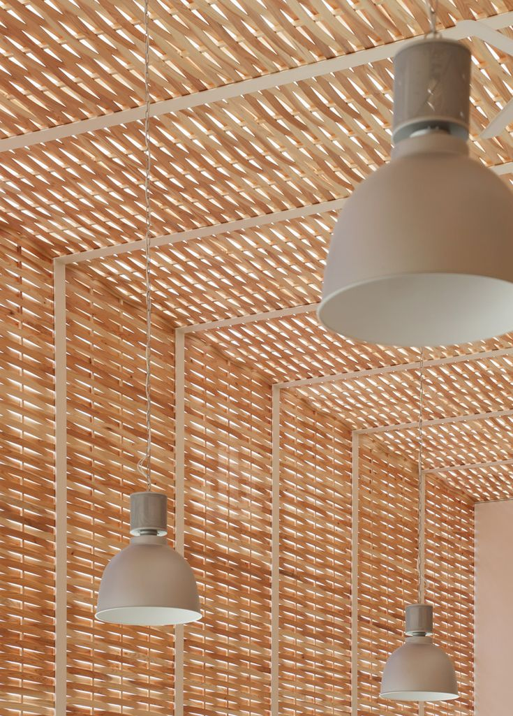 """Office of Wickerwork / SUEP.  """"woven cedar strips"""""""