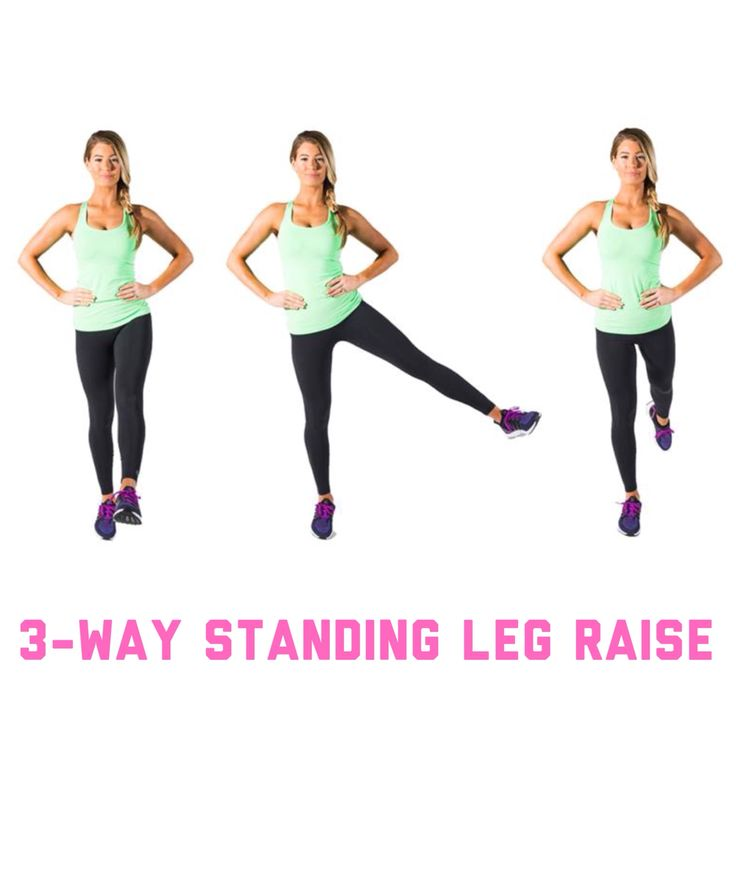 3-way standing leg raise
