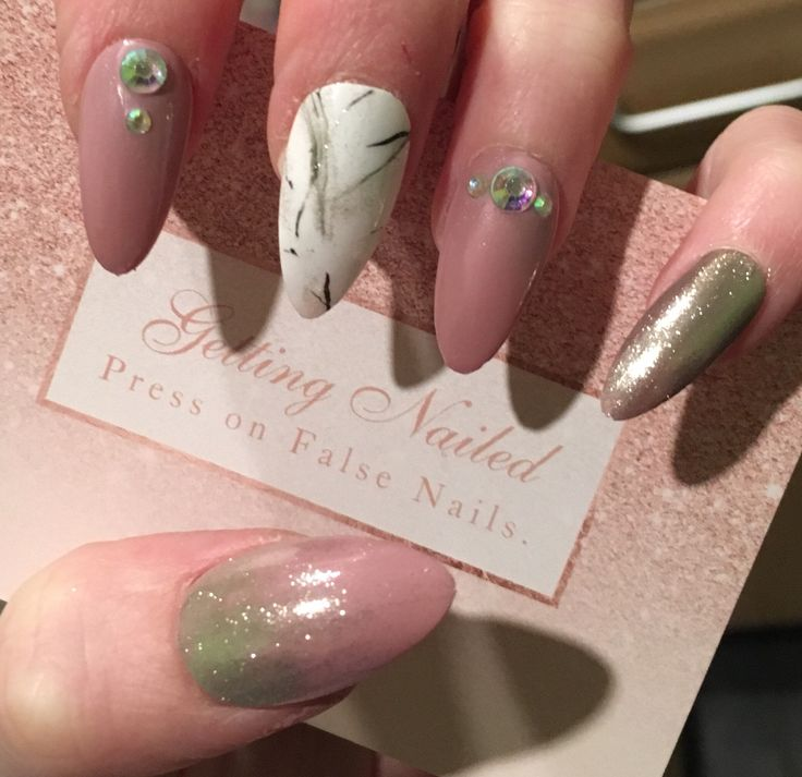 140 best False nails, Press on nails, designs images on Pinterest