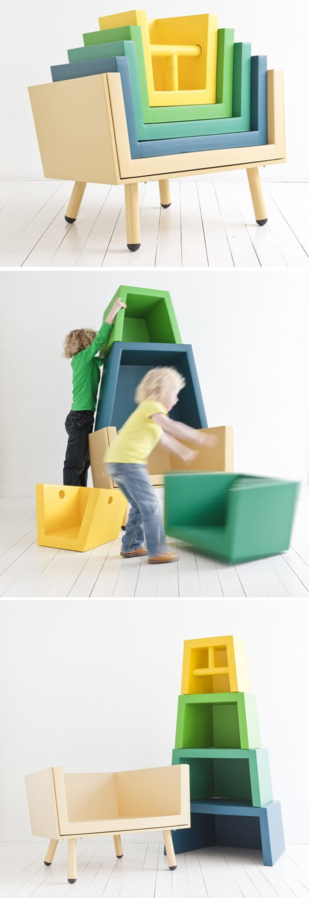 The Stacking Throne   Kids' Furniture That Really Should Come In Adult Sizes