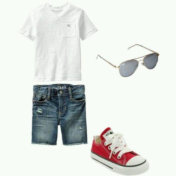 Combinaciones Para Vestir A Tu Pequeño Tendencias 2019 Kids Summer Fashion Boys Summer Outfits Little Boy Outfits