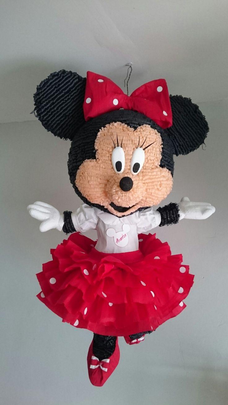 Minie Mouse  Piñatas artesanales Cambero