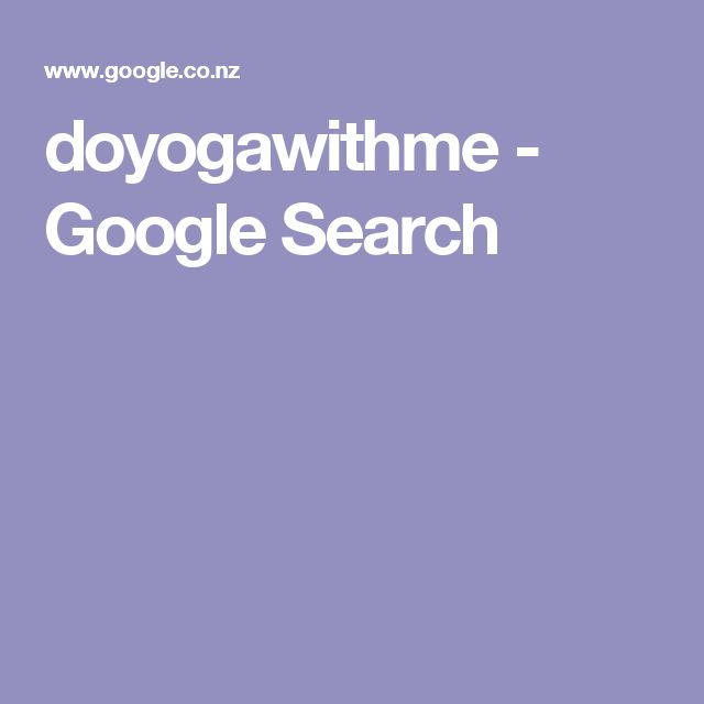 doyogawithme - Google Search