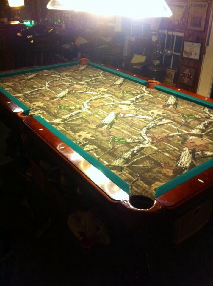 Mossy Oak Pool Table Pool Tables Pool Balls Etc Pinterest